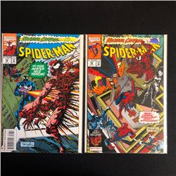 MAXIMUM CARNAGE SPIDER-MAN COMIC BOOK LOT #36/ #35 (MARVEL COMICS)