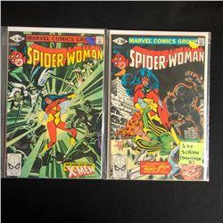 SPIDER-WOMAN COMIC BOOK LOT #38/ #37 (MARVEL COMICS)