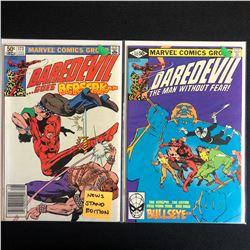 DAREDEVIL COMIC BOOK LOT #172/ #173 (MARVEL COMICS)