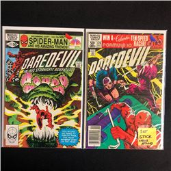 DAREDEVIL COMIC BOOK LOT #177/ #176 (MARVEL COMICS)