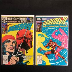 DAREDEVIL COMIC BOOK LOT #179/ #178 (MARVEL COMICS)