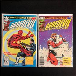 DAREDEVIL COMIC BOOK LOT #183/ #182 (MARVEL COMICS)