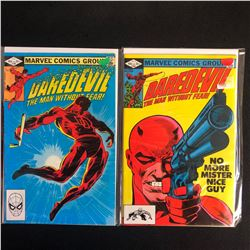 DAREDEVIL COMIC BOOK LOT #185/ #184 (MARVEL COMICS)