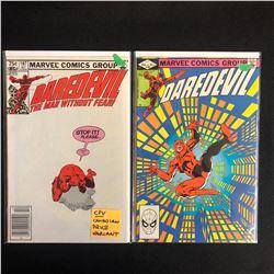 DAREDEVIL COMIC BOOK LOT #187/ #186 (MARVEL COMICS)