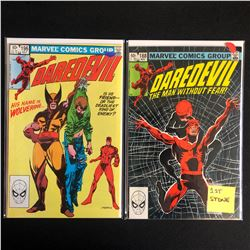 DAREDEVIL COMIC BOOK LOT #196/ #188 (MARVEL COMICS)