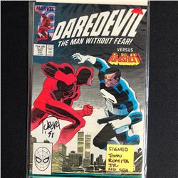 DAREDEVIL #257 (MARVEL COMICS) SIGNED by JOHN ROMITA JR