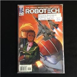 ROBOTECH SOURCEBOOK 0,1,2,3 (WILDSTORM COMICS)