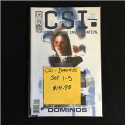 CSI: CRIME SCENE INVESTIGATION -DOMINOS- #1-5 (IDW)