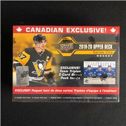 2019-20 UPPER DECK SERIES ONE HOCKEY HOBBY BOX