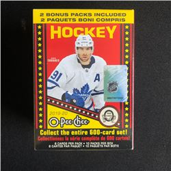 2019-20 O-PEE-CHEE HOCKEY HOBBY BOX