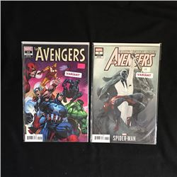 THE AVENGERS COMCIC BOOK LOT (MARVEL COMICS)