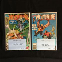 WOLVERINE #41 and #37 (MARVEL COMICS)
