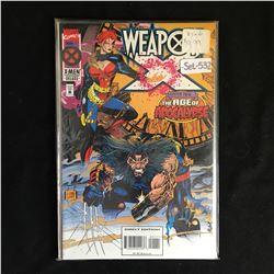 WEAPON X #1-4 (MARVEL COMICS)