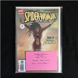 SPIDER-WOMAN ORIGIN #1-5 (MARVEL COMICS) 2006