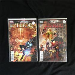 MARVEL COMICS BOOK LOT (THOR/ AVENGERS)