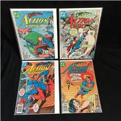 ACTION COMICS BOOK LOT (DC COMICS)