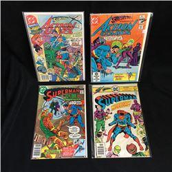 ACTION COMICS/ SUPERMAN COMIC BOOK LOT (DC COMICS)