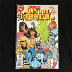 JUSTICE LEAGUE #1-4 (DC COMICS)