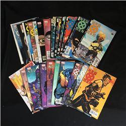 NEW XMEN COMIC BOOK LOT (MARVEL COMICS)
