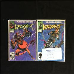 LONGSHOT #2 and #5 (MARVEL COMICS)