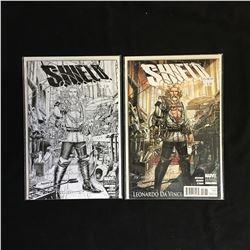 S.H.I.E.L.D MARVEL VARIANT COMIC BOOK LOT