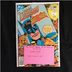THE UNTOLD LEGEND OF THE BATMAN #1-3 (DC COMICS)
