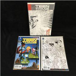 TEEN TITANS COMIC BOOK LOT (DC COMICS)