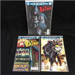 ALL-STAR BATMAN COMIC BOOK LOT (DC UNIVERSE REBIRTH)