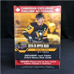 2019-20 UPPER DECK HOCKEY SERIES ONE BLASTER BOX (CANADIAN EXCLUSIVE)