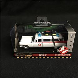 Hollywood Rides Metals Ghostbusters ECTO-1 Die Cast Car