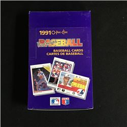 1991 O-PEE-CHEE PREMIER BASEBALL CARDS HOBBY BOX