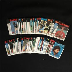 1986 TOPPS BASEBALL CARD LOT