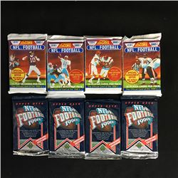 1991 FOOTBALL TRADING CARD PACKS LOT