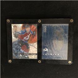 JOE SAKIC LEAF FIRE ON ICE HOCKEY CARD LOT