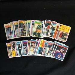 1982-83 O-PEE-CHEE HOCKEY CARD LOT