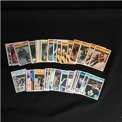 1982-83 O-PEE-CHEE HOCKEY CARD LOT