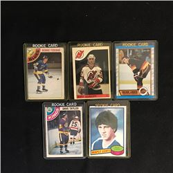 VINTAGE HOCKEY ROOKIES CARD LOT