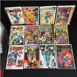 THE NEW WARRIORS COMIC BOOK LOT