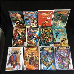 VARIOUS COMIC BOOK LOT ( JUSTICE LEAGUE,IMPULSE)