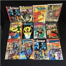 VARIOUS COMIC BOOK LOT (SUPERMAN BATMAN)