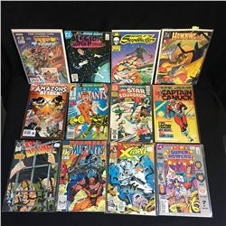 VARIOUS COMIC BOOK LOT (NEW MUTANTS, X MEN)