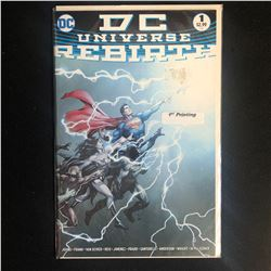 DC UNIVERSE REBIRTH #1 (DC COMICS)