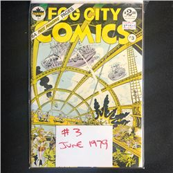 FOG CITY COMICS #3 (STAMPART COMICS)
