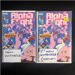 ALPHA FIGHT #32 COMIC BOOK LOT (MARVEL COMICS)