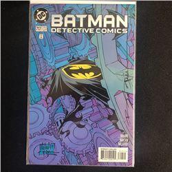 DETECTIVE COMICS #717 (DC COMICS) signed by BRIAN STELFREEZE