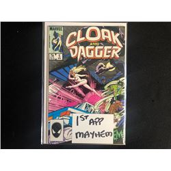 CLOAK AND DAGGER #5 (MARVEL COMICS)