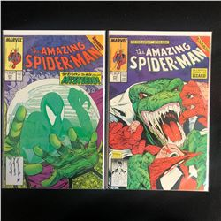 THE AMAZING SPIDER-MAN COMIC BOOK LOT #311/ #313 (MARVEL COMICS)