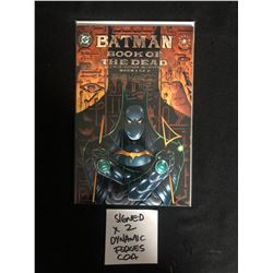 BATMAN BOOK OF THE DEAD #1 of 2 (DC COMICS) signed by MOENCH & KITSON