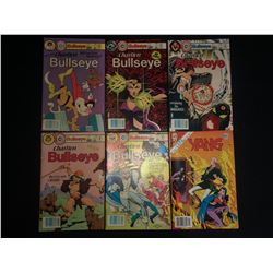 BULLSEYE COMIC BOOK LOT (CHARLTON COMICS)