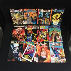 VARIOUS COMIC BOOK LOT (BATMAN, AVENGERS)